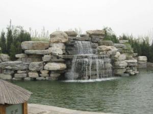 定西水泥假山雕塑