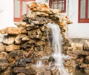 假山盆景喷泉