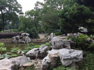 太湖石假山