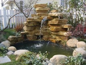 庭院塑石假山特点