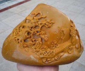 甘南黄蜡石