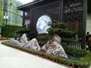 生态园假山造景